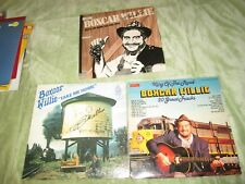 Boxcar Willie Take Me Home Records AL-C-1011 Best of & King of Road Signed LP