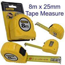 Stanley Tape Measure Measuring Rule 8m x 25mm Metric Increments 0-30-457