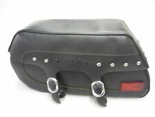 SUZUKI 05-08 C90 C 90 BOULEVARD VL1500 LEFT SIDE LEATHER SADDLEBAG LUGGAGE OEM