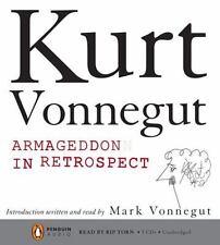 Armageddon in Retrospect by Kurt Vonnegut (CD, Unabridged) NEW