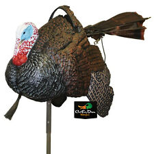 MOJO OUTDOORS SHAKE N JAKE MOTORIZED TURKEY FAN MOTION DECOY JAKE GOBBLER