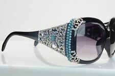 9392 BLING  Big Eyewear Bling Retro Vintage  Womens Fashion over sized