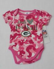 NFL Green Bay Packers Infant Pink Camo Bodysuit 18 Months