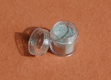 8 - 10 g Glitter Puder  Farbe Silber  Holoeffekt