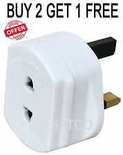 Two Pin Shaver/Toothbrush Adapter Electric / Three Pin Shaver Adapter PLUG