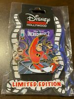 New Disney DSF DSSH Incredibles 2 COMIC Pin LE 300 Family Dash Jack Bob Violet