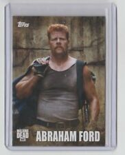 The Walking Dead Season 5 2016 Characters Trading Card #C-11 Abraham Ford