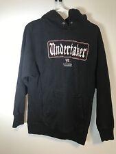 WWE Authentic Undertaker Hoodie Sweatshirt Wrestling Small No String