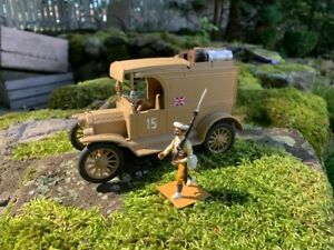 KING & COUNTRY Lead Toy Soldiers WW1 ARMY MODEL T SUPPLY TRUCK 1/30 scale Mignot