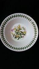 """Portmeirion BOTANIC GARDEN Box Leaved Milkwort Rimmed Cereal Oatmeal Bowl 6 1/2"""""""