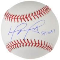 "DAVID ORTIZ Autographed ""541 HR's"" Boston Red Sox Baseball FANATICS"