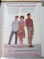 Sixteen Candles ~ John Hughes ~ One Sheet Poster ~ Rolled ~ 1984 C2