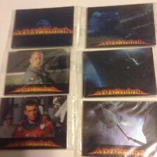 Armageddon 15 Card Set  Nestle Chocolate Movie Promo Bruce Willis Ben Affleck