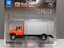 HO 1/87 Boley # 3001-96 GMC Single Axle Truck w/ Dry Van - Orange/Silver