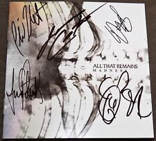 Oli Herbert Auto RIP 10/16/18 All That Remains Madness Signed CD Phil Labonte