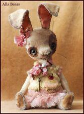 Alla Bears artist Bunny Old doll Ooak decor Japanese Anime