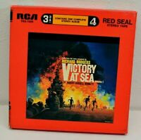 3 3/4 IPS Victory At Sea Vol 1 Richard Rodgers Reel Track Red Seal Stereo Tape