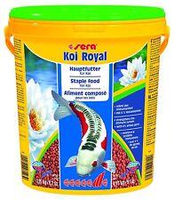 Sera KOI Royal medium - Hauptfutter für Koi - 21 Liter Eimer