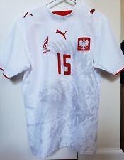 Poland Puma 2006 2007 Smolarek Home Jersey Football Soccer Shirt Mens S Small
