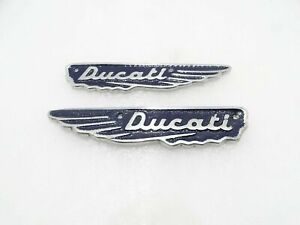 New Ducati Scrambler 350Cc Petrol Tank Dark Blue Alloy Badges