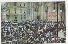 USA, Sunday Morning, Fifth Avenue, New York Postcard, B419