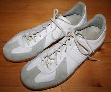 SPORTSCHUHE weißes Leder BW Sport  265 = Gr. 41  echt VINTAGE