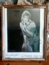 Olivia Newton-John Autographed 8 x 10  Rare MCA RECORDS 7/82 Photograph