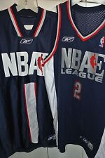 6e6889bc565c NBAe League New Jersey Nets Authentic Game Jersey Warmup Set