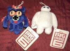 "Disney's Big Hero 6 5.5"" Plush Baymax And Fred NWT"
