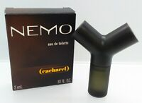 Mini Eau Toilette ✿ NEMO by CACHAREL ✿ Perfume Parfum France (3ml. = 0.10 fl.oz)