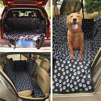 Car Back Rear Seat Pet Mat Cover Dog Hammock Protector Safety Cushion Pad