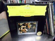 Herbert Von Karajan Symphony No 5 Japan LP DGG Anton Dvorak EX [Red Tulip]