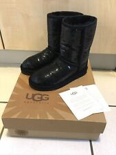Ugg Australia Classic Short Sparkles  Boots With Box Size UK 3.5 US 5