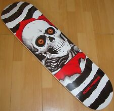 "POWELL PERALTA - One Off Ripper - Skateboard Deck  - 8.0"" - White -"