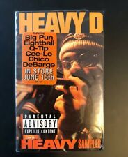 Rare Sealed Heavy-D Promo Snippet Sampler Explicit Big Pun Q-Tip Debarge Cee-Lo