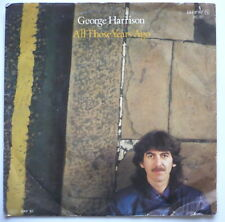 "George Harrison-all those years ago - 7"" - > Single Beatles"