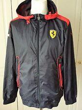 Puma Ferrari SF Hooded Full Zip Windbreaker Jacket   Medium