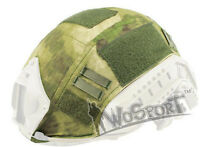 Tactical Military Hunting Helmet Cover for Ops-Core Fast Helmet BJ/PJ/MH MR Camo
