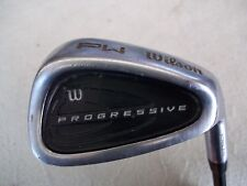 "NICE WILSON PROGRESSIVE PITCHING WEDGE ""PW"" WILSON MENS FLEX GRAPHITE 36"" MEN RH"