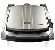 Breville VST026 4 Slice Sandwich Press Easy To Clean And A Stainless Steel_UK