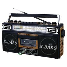 NEW QUANTUM FX Qfx Am/fm/sw1-sw2 4 Band Radio And Cassette To Mp3