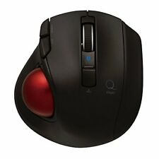 Nakabayashi Digio 2 Q Minimal Trackball Bluetooth Mouse Quiet 5 Button black