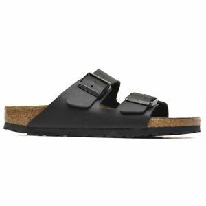 Birkenstock Arizona Black Birko-Flor Womens Sandals