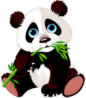 PREMIUM Autoaufkleber Panda Pandabär Bär Auto Biker Aufkleber Sticker Kinder NEU