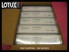 NEW Box of 5 HP LTO-6 Ultrium RW MP Data Cartridge 6.25TB C7976A LTO6 TAPE HPe