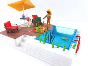 Playmobil 5575 Einbau-Swimmingpool, vollständig