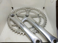 Vintage Campagnolo Record double 53/39 172,5mm crankset 9 speed