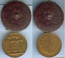 Médaille de table - PARIS 1883 chant concours dictée 2° prix Melle SELLOS d=41mm