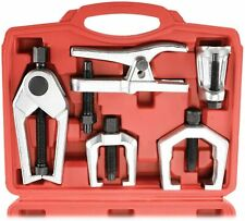 6Pcs Front End Service Tool Set Ball Joint Separator Pitman Arm Tie Rod Puller