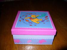Winnie the Pooh Keepsake Storage  Box